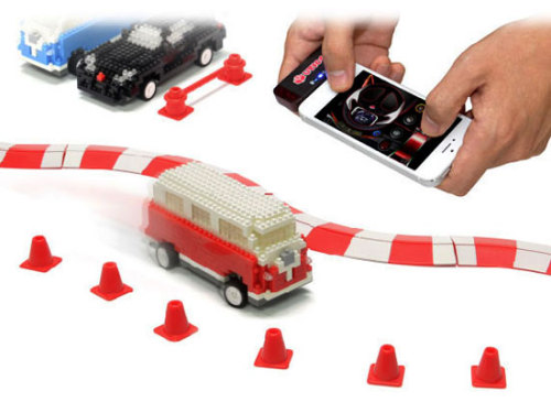 iPhone Controlled Mini Brick Cars