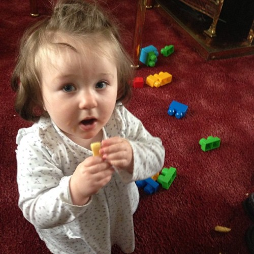#cousin #baby #cute #blue #eyes little cousin eating&playing👶😘