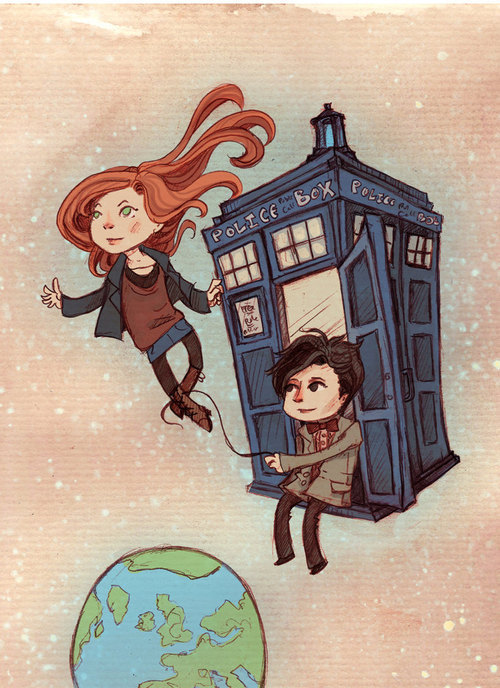 Superb Doctor Who artwork!!