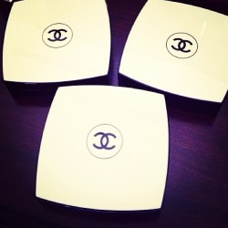 The essentials! New purchases today..😍 #chanel #cosmetics