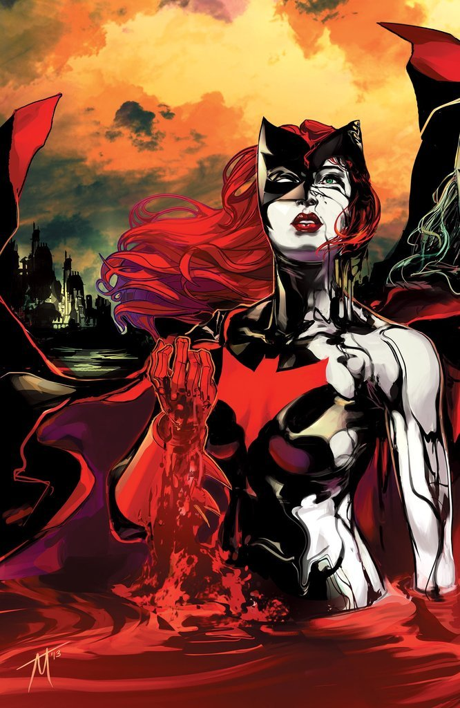 dcwomenkickingass:  Cover of Batwoman #19. McCarthy really is settling in nicely on this title.