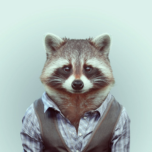 Zoo Portraits by Yago Partal This wildly entertaining series comes courtesy of Yago Partal who dresses up zoo animals in snazzy attire. The entire series is really well done and a lot of the outfits match the critters characteristics perfectly. You can order prints of your favourite fashionable animal over at his tumblr page which is linked below.  Artists: | Website | Twitter | Tumblr | [via: Visual News]