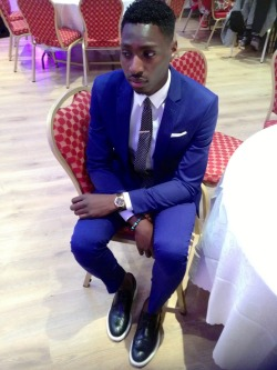 blackfashion:  BamSs, 24, Paris Suit : Paul Smith Shoes : Kurt Geiger IG : Bamsstagram FaceBook : www.facebook.com/bamssmodeste
