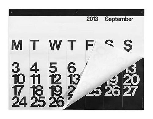 The classic Stendig Calendar is always a great last minute gift idea.