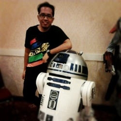 Hello Artoo! #SWDJKT #journal at least my face in my instagram
