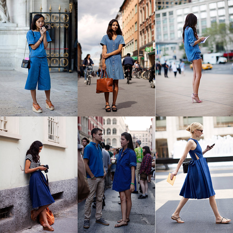 paris2london:  (via If You're Thinking About….Summer Denim « The Sartorialist)