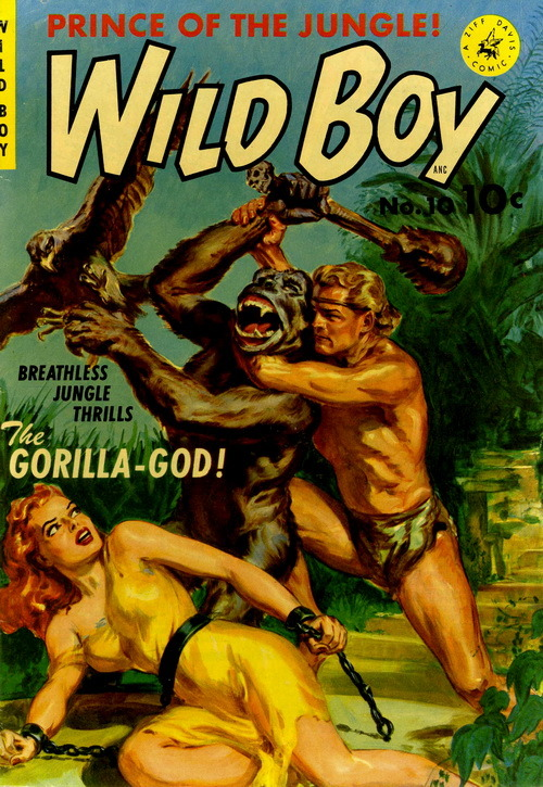 Wild Boy of the Congo (No.10 (Actually No.1), 1951)Cover Art by Norman Saunders