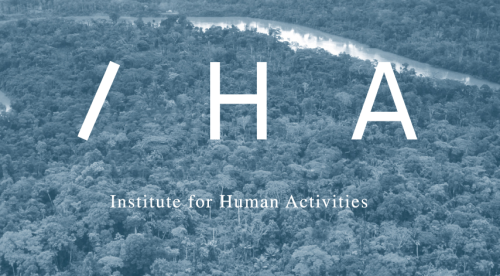 IHA  The Institute for Human Activities has located its settlement in the Democratic Republic of the Congo, eight hundred kilometers upstream from Kinshasa on the river Congo.  Here, in one of the most burdened yet promising regions in the world, the Institute for Human Activities will launch its five-year Gentrification Program and, in an in vitro testing ground, mobilize the modalities of art production.  With legal structures in Amsterdam, Brussels and Kinshasa, a host of partners and advisors, and a dedicated team of artists and thinkers, the Institute's raison d'être is to recalibrate art's critical mandate.  With an array of renowned cultural institutions and corporate partners, the Institute for Human Activities envisions a new model for local development. In the course of its implementation, the Institute will establish a site for love, art and profit. The results will be shared with large audiences in Europe, Africa and around the world.