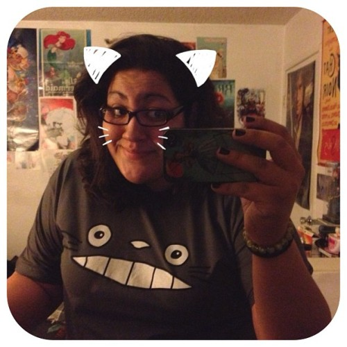 Picked up a new shirt!!! #Totoro, To-to-ro!!!! 😚 (at The Batcave.)
