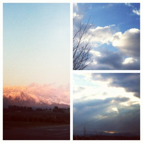 #picstitch #nature #clouds #trees #aftertherain  #thursdayMorning #mountains #photography #fun #amazing #GodisAmazing!!! #goodmorning 🌄🗻