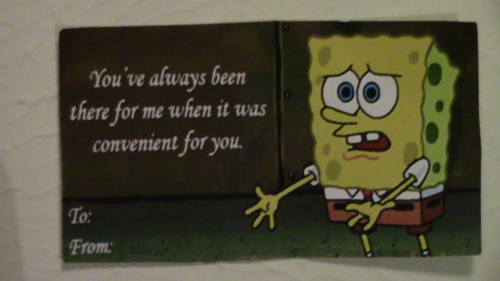 My friend handed me this card for Valentine's day. BEST. CARD. EVER.