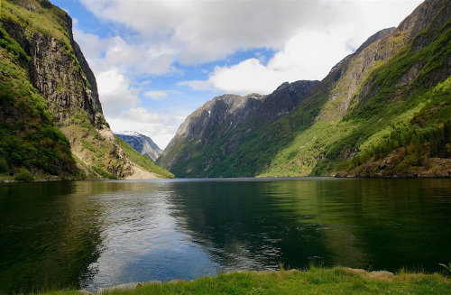paganroots:  Nærøyfjord, Norway by julian-oa