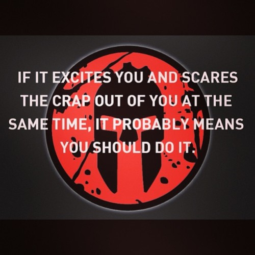 #wordstoliveby #spartanrace …it will be here before we know it @lplife @itsclarak @jacared1226