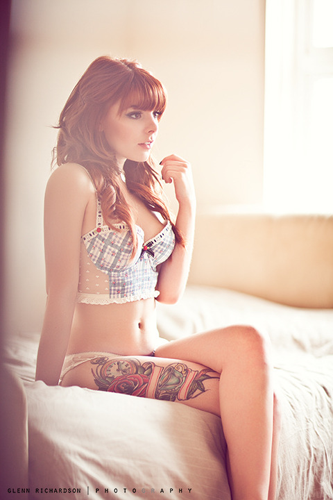 I most definitely have a thing for red heads