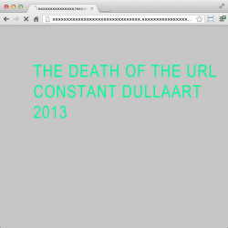 The Death Of The URL, from today and tomorrow http://bit.ly/WIrb3H