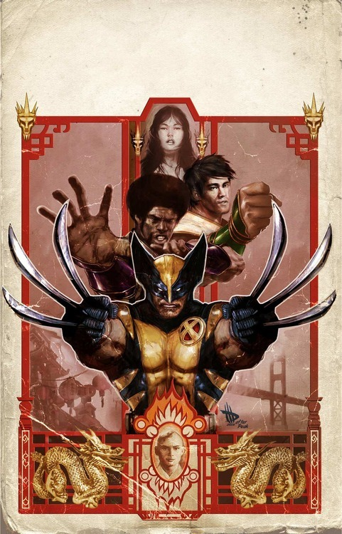 Wolverine Manifest Destiny #3 cover by Dave Wilkins