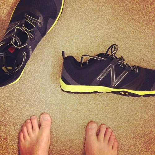 New sneaks new start #newbalance #minimus #summeriscoming #runmuch