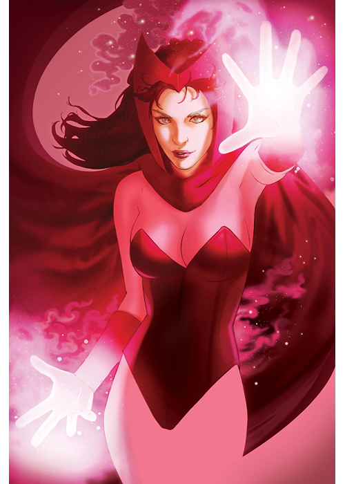 Scarlet Witch, by Scott Forbes