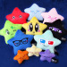 More new star plushes!! Introducing: Lucky Star, HipStar, Movie Star, Ninja Star, and Baby Stars!I will be debuting them at Anime Los Angeles (AA table #204)! :D