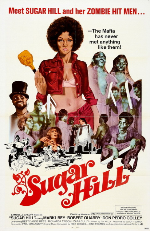 monsterman:  Sugar Hill (1974)