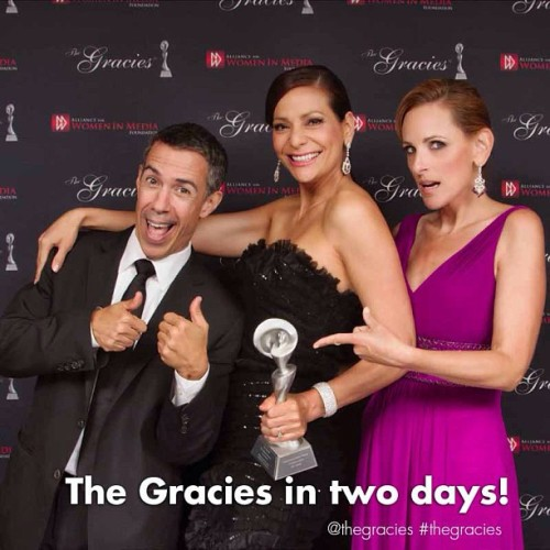 In two days… The Gracies! Melissa Etheridge will perform. Follow The Gracies on Twitter for live photos. @thegracies #thegracies