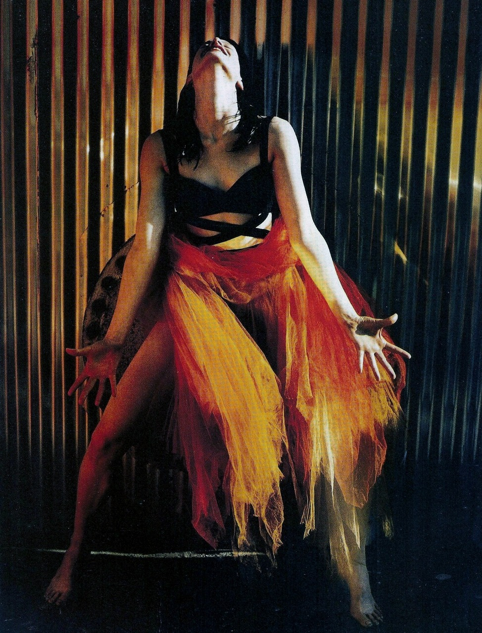 saloandseverine:  Vogue Italia April 1990, Carmen Kristen McMenamy by Javier Vallhonrat