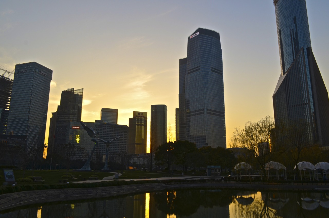 Sunset in Shanghai Photo: Jadiel Galicia