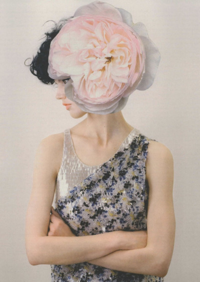 Balenciaga | Guggenheim Act 4; By Linder Sterling Photographed by Mel Bles for Pop Spring/Summer 2011