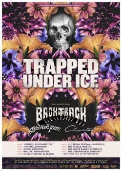 Had a fucking belting good time at Trapped Under Ice last night. So fucking pumped after it I must've cycled home in half the time I normally do. Not a duff band on the bill, was good to see Broken Teeth again who seem to have come along A LOT since last I saw them (fuck me, why do websites like Louder Than War go on about fucking Stone Roses & Oasis all the time when they could be going on about Broken Teeth), a couple of local abnds & another from the US. Think at one point we had 15 guys / gals two step moshing AT THE SAME TIME! I know, in a venue the size of the Fleece! Normally you'd need at least the size of a football pitch for 15 people to two step mosh & it not to end up with blood everywhere! Such a huge bummer TUI are taking a time out. Way gutted. We may be in the midst of the best year for album releases this century but other music news is just one long litany of shit followed by arse followed by wank followed by bolloacks (sic). Not cool.