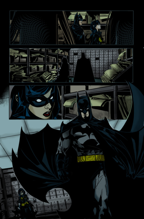 gates of gotham issue 3 page 17 artist trevor mccarthy colors by me