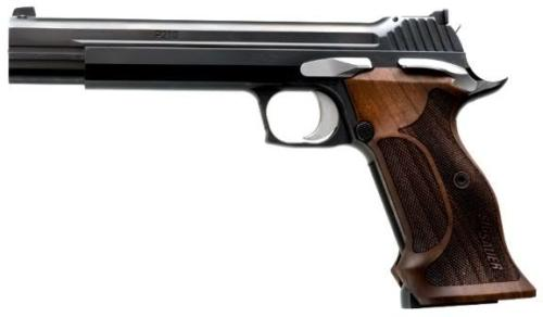 Sig P210 Super Target. Next purchase for 2013 as I am now a full fledged member of the local Secret Squirrel Indoor Shooting Range.