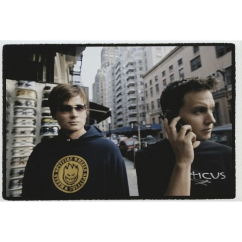 markhoppus:  TBT New York City, circa 2001.