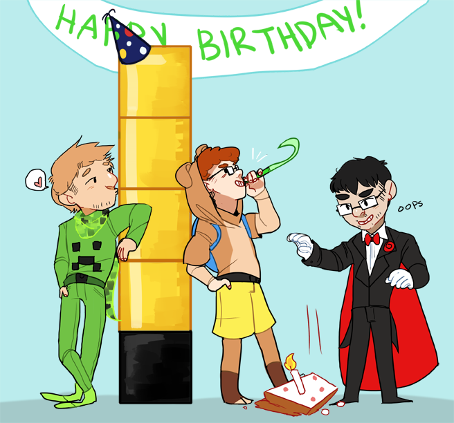 sherlocking:  quick thing, the lads celebrating the tower of pimps birthday!!!