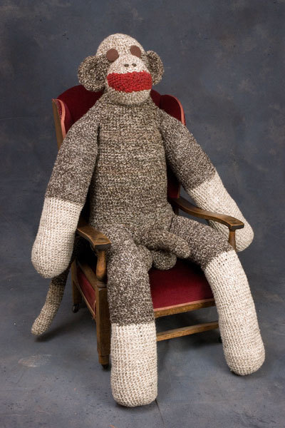 bebelestrange:  americanshaft:mistaobseen:  sock monkey. sock monkey wins & he's tired of your long drawn-out discussions about tumblr. stfu.