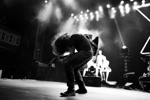 COHEED AND CAMBRIA - LIVE IN ATLANTA PRINT NOW AVAILABLE! I shot this photograph last night of Coheed and Cambria at the Tabernacle in Atlanta. This is such an amazing shot I had to immediately put it up in the webstore to order. You can get it now in 3 different size in a very very limited run and ONLY sold till March 15th. Order yours now at http://ryanrussell.bigcartel.com.