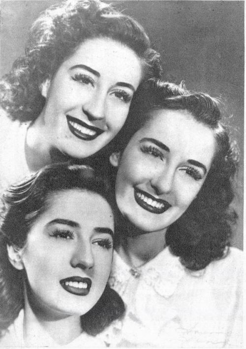 (via Flickr: Gatochy's Photostream) Sisters Meireles, 1940s