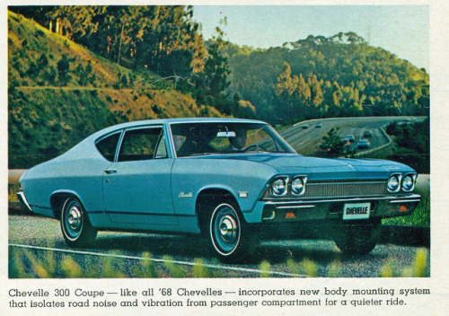 1968 Chevrolet Chevelle 300 2 Door Sedan by coconv on Flickr.1968 Chevrolet Chevelle 300 2 Door Sedan