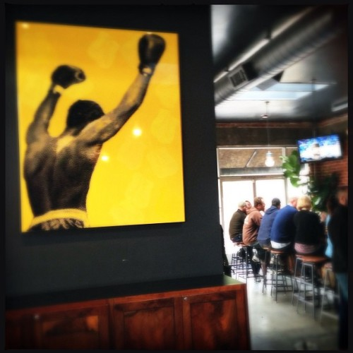 The Prizefighter in Emeryville… rec from @jeffmorgen.