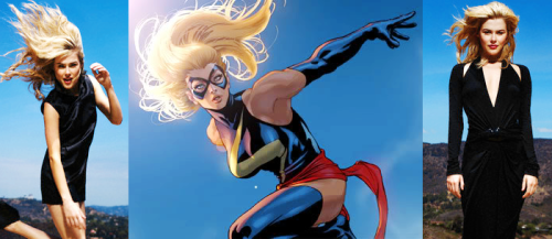 Rachael Taylor for Ms. Marvel.