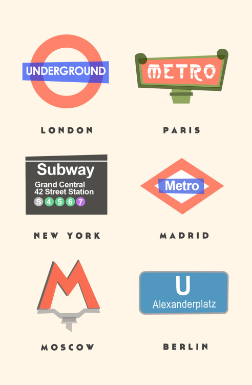 via designersof:  City Subways by Lastminute.com ————————get your work featured by submitting it to designersof.com