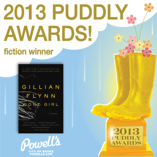 The winning fiction title, as chosen by you!