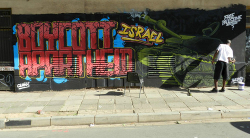 "israelfacts:  In historic decision, South Africa's ANC makes support for Israel boycott its official policy For the first time ever, the African National Congress (ANC), the ruling party in South Africa, today made the Palestinian call for boycott, divestment and sanctions on Israel part of its official policy. Mbuyiseni Ndlozi of BDS South Africa said the decision ""by the ANC's National Conference, its highest decision making body, is by far the most authoritative endorsement of the Boycott, Divestment and Sanctions (BDS) against Israel campaign."" In a press release sent out by email, BDS South Africa explained:   In October 2012, the ANC's International Solidarity Conference (ISC) declared its full support for the Boycott, Divestment and Sanctions (BDS) against Israel campaign. Today, Lindiwe Zulu (member of the ANC's International Relations Sub-Committee and special advisor to President Jacob Zuma) announced at the ANC's 53rd National Conference plenary session, the ANC's official endorsement, as captured in Resolution 39 (b), of the ANC's October International Solidarity Conference (ISC) and all its resolutions, which includes a resolution on BDS. Giving muscle to resolution 39 (b), the ANC has committed to set up a steering committee to implement these ISC resolutions. In addition, the ANC adopted resolution 35 (g) that specifically called for ""all South Africans to support the programmes and campaigns of the Palestinian civil society which seek to put pressure on Israel to engage with the Palestinian people to reach a just solution.""   Solidarity with Africans mistreated by Israel BDS South Africa also applauded the ANC National Conference for passing a resolution that ""abhors the recent Israeli state-sponsored xenophobic attacks and deportation of Africans"" and to ""request that this matter should be escalated to the African Union."" Growing solidarity in South Africa Recently high-level South African church leaders, shocked at what they saw then they visited Palestine, also expressed support for the boycott. In August, South Africa's Deputy Foreign Minister Ebrahim Ebrahim advised his country's citizens not to travel to Israel ""because of the treatment and policies of Israel towards the Palestinian people."" Prior to October's decision at the ANC's International Solidarity Conference – that set the stage for today's vote at the National Conference – more than 150 former anti-Apartheid activists from around the world signed a statement calling on the ANC to support the boycott. Today, those voices and those of solidarity groups in South Africa, proved to be more effective than the appeals of the once mighty anti-Palestinian groups. The Electronic Intifada"