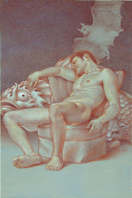 Michael Bergt | Sleep of Reason | 2003 | 21.5 x 14.5"