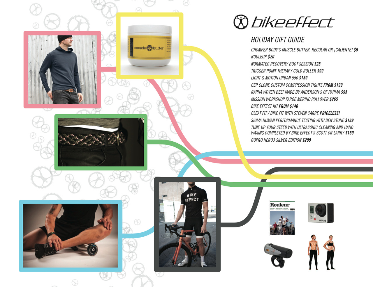 Look no further!  The Annual Bike Effect Holiday Gift Guide for Champions is here.