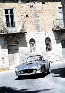 thechicane:  Ferrari 250GT at the Targa Florio