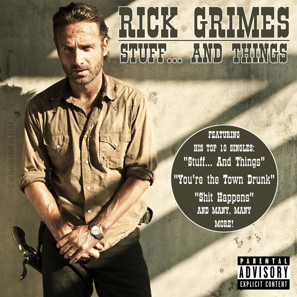 The new album by Rick Grimes.