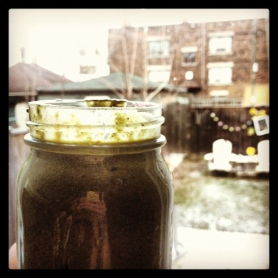 #green #smoothie  (at Secret Garden)