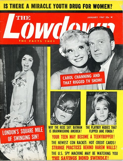 cryptofwrestling:  The Lowdown (Jan. 1967) Batman?  Lousy Reds!