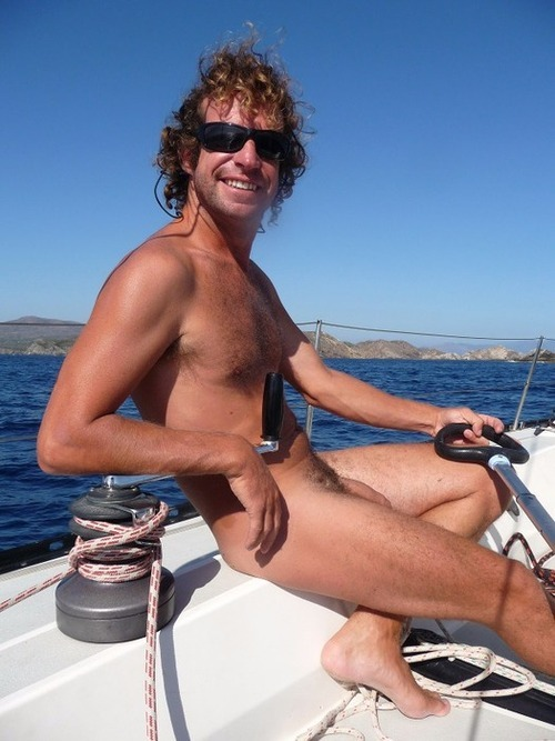 Naked photos sailing voyeur