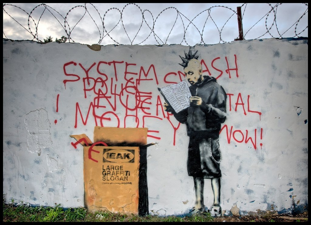 IKEA Punk by Banksy
